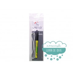Rotulador marcador permanente (Pilot) para la ropa con cinta termoadhesiva