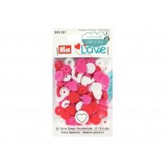 Botones de presión o snaps 393031 - Prym Love