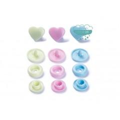 Botones de presión o snaps 393030 - Prym Love