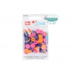 Botones de presión o snaps 393006 - Prym Love