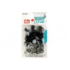 Botones de presión o snaps 393003 - Prym Love