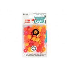 Botones de presión o snaps 393080 - Prym Love