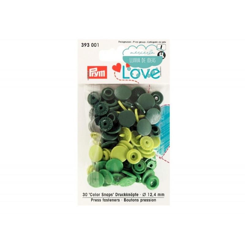 Botones de presión o snaps 393001 - Prym Love