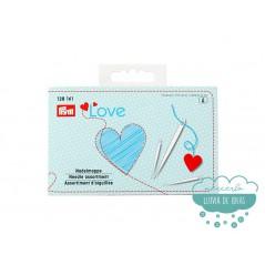 Set de 29 agujas + enhebrador - Prym Love