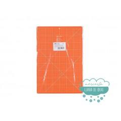 Base de corte 30x45 cm. color naranja - Prym Omnigrid