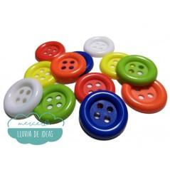 Botón de payaso - Ø 28 mm.
