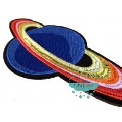 Parche bordado termoadhesivo - Saturno