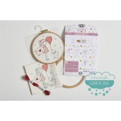 Kit de niños para bordar - Unicornio