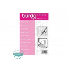 Papel de seda para patrones - Burda