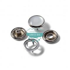 Botones de presión o snaps 'Anorak' 12 mm. nacarado - Prym