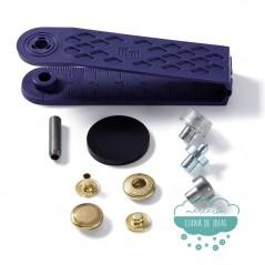 Botones de presión o snaps 'Anorak' 12 mm. dorado - Prym
