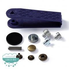 Botones de presión o snaps 'Anorak' 12 mm. oro viejo - Prym