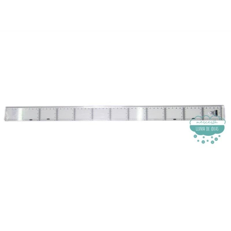 Regla recta 60 cm. milimetrada - AGOTADO TEMPORALMENTE
