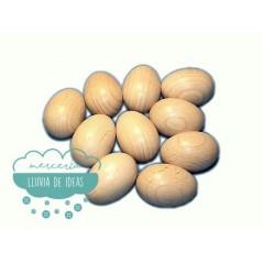 Huevo de madera para zurcir