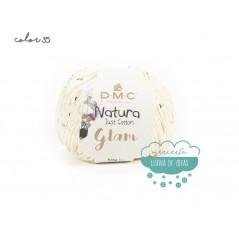 Hilo de algodón con lentejuelas DMC - Natura Glam
