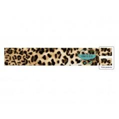 Bies polipiel perfilado 25 mm. - Leopardo