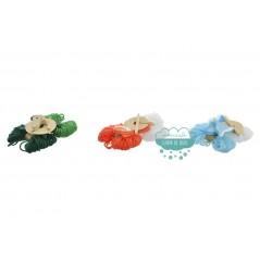 Kit para crear pompones - Animales marítimos