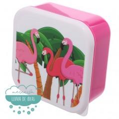 Set de 3 fiambreras - Flamingo