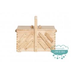 Costurero de madera rectangular extensible - Prym
