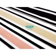 Goma elástica de rayas 40 mm. - Serie Sport