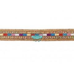 Pasamanería metalizada con lentejuelas - Serie Sira