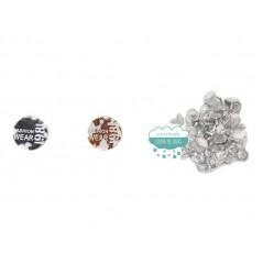 Botón metálico para vaquero - Serie Fashion Wear