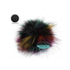 Pompones de pelo ecológico - Ø 15 cm.