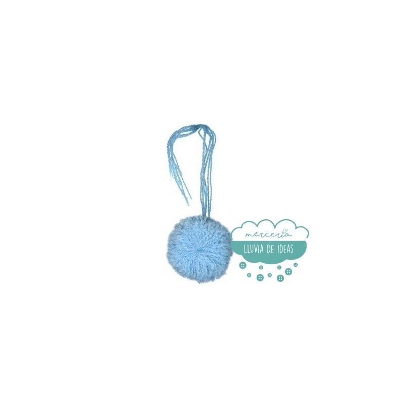 Pompones de lana - Ø 30 mm.