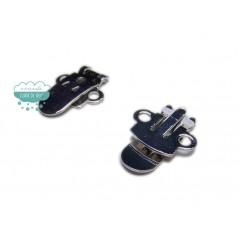 Pinza clip de acero para zapatos