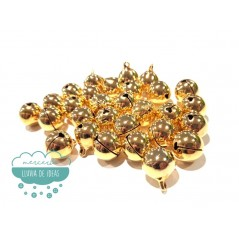 Cascabeles metálicos dorados - Varias medidas