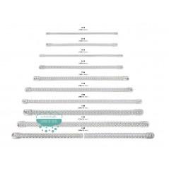 Ballena de metal en espiral - Varias medidas