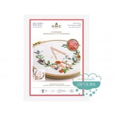 Kit de bordado DMC - Corona de flores