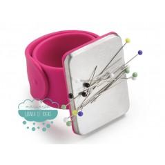 Alfiletero magnético de pulsera - Prym Love Colección Pink