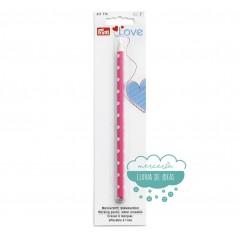 Lápiz marcador blanco - Prym Love Colección Pink