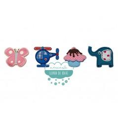 Parches bordados termoadhesivos - Colección Baby Patch I