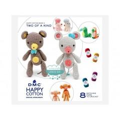 Mini libro Happy Cotton Book Nº3 Amigurumi - DMC