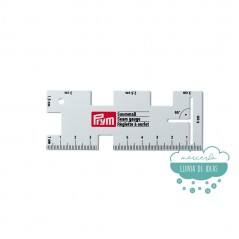 Regla de aluminio para medir costuras - Prym
