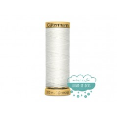 Hilo algodón 100% CNe50 100 m. - Gütermann