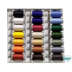 Hilo Cotton 30 de bordar a máquina o quilting (colores lisos) 300 m. - Gütermann