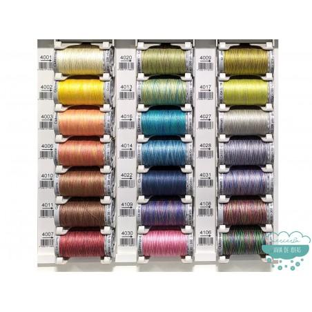 Hilo Algodón Cotton 30 de bordar a máquina o quilting (colores degradé) 300 m. - Gütermann
