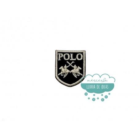 Parche bordado termoadhesivo - Serie Polo