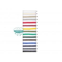 Cordón trenzado algodón 5 mm. varios colores - Serie Amaya
