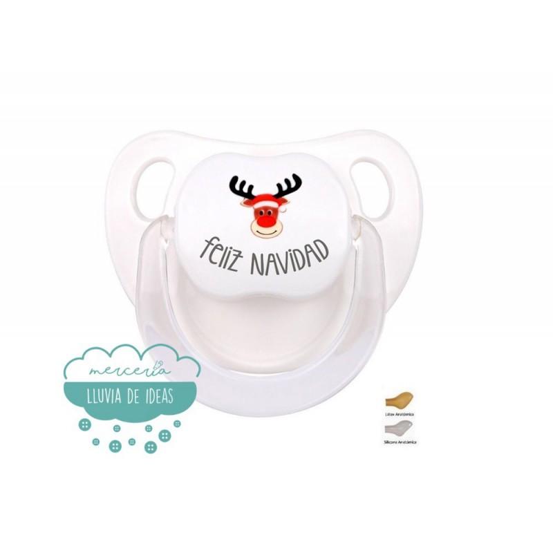 Chupete Baby - Feliz Navidad con Reno Rudolph