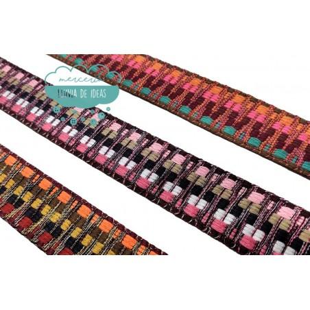 Cinta tejida multicolor - Serie Turquía
