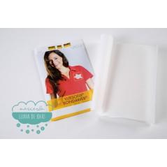 Entretela blanca termoadhesiva 2 caras con papel  (Vliesofix Bondaweb)