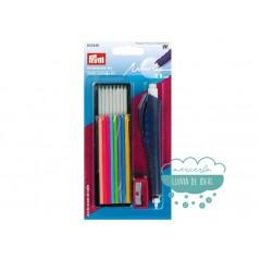 Set marcador de tiza para marcar tejidos - Prym