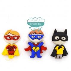 Botones decorativos - Super héroes - Dress It Up