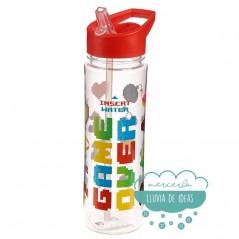 Botella de agua 550ml. - Game Over