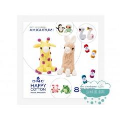 Mini libro Happy Cotton Book Nº8 Amigurumi - DMC