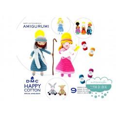 Mini libro Happy Cotton Book Nº6 Amigurumi (Nacimiento) - DMC